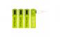 Set 4 buc acumulatori Serioux, 1000 mAh, micro USB