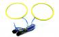 Set 2 inele LED COB 70 mm 12V alb (angel eyes universale)