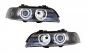 Set 2 faruri Angel Eyes compatibil cu BMW Seria 5 E39 Sedan Touring (1996-2003) Black Grey Edition