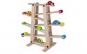 Pista mare din lemn cu masinute si bile, calitate premium, 67cm x 56cm