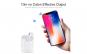 Casti Wireless FENiX® i12 Air TWS model 2019, alb, Bluetooth 5.0, muzica 5D Surround de inalta calitate, apeluri telefon, amprenta, compatibile IOS Samsung iPhone Android Huawei Xiaomi