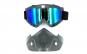 Masca cu ochelari moto/atv Black Friday Romania 2017