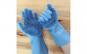 Manusi profesionale, cu perii pentru spalat vasele