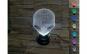 Lampa 3D LED - FizioLight, Alien, 7 culori, alimentare USB.