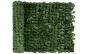 Gard artificial cu frunze verzi, 100 x 300 cm + cadou ghirlanda agatatoare