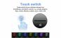 Lampa 3D LED, Bufnita, 7 culori, USB