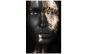 Tablou canvas Gold Face, 70 x 100cm Black Friday Romania 2017