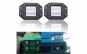 Proiectoare LED auto Offroad 18W/12V-24V, 1320 lumeni, incastrabil