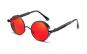 Ochelari de soare Rotunzi Steampunk Cronic Rosu cu Negru