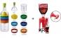SET Sticla 8 in 1 cu accesorii de bucatarie + Dozator bauturi carbogazoase