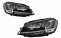 Set 2 faruri 3D LED, compatibil cu VW Golf VII (2012-2017) R-Line LED Turn Light