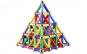 Joc creativ pentru copii, Magnastix, 37 piese