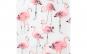 Perdea de dus - model flamingo - 180 x 200 cm