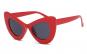 Ochelari de soare dama Cat eye Butterfly Oversized - Rosu-