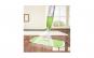 Mop cu pulverizator  - pentru podele şi geamuri, laveta microfibre, rezervor