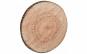 Perna decorativa bustean, rotunda, 40 cm