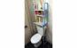 Raft depozitare peste toaleta, 3 polite