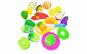 Set jucarii pentru copii legume de taiat, 12 piese WP3501