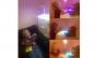 Lampa birou multicolora