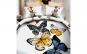 Lenjerie 3D bumbac satinat cu fluturi