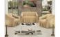 Set huse canapea 3 locuri si fotolii universale din bumbac gros, tip fagure calitate premium