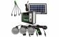 Set panou solar cu 3 becuri, incarcare telefon, Radio, MP3, bluetooth si lanterna LED