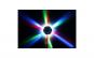 Roata cu led-uri multicolore si jocuri de lumini