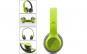 Casti bluetooth cu microfon si radio P47 verde