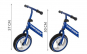 Bicicleta fara pedale Kruzzel, 12 inch