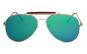 Ochelari de soare Aviator Outdoorsman Verde reflexii - Auriu-