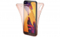 Husa Full TPU 360 fata + spate Huawei P20 Lite  Rose Gold transparent