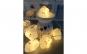 Instalatie de Craciun cu Baterii Tip Sir 1.5 m 10 LED -uri Norisor Alb Cald