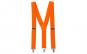 Bretele Suspenders portocaliu,VIVO