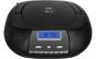 Radio CD Player ECG CDR 500 negru, tuner FM cu memorie 20 de posturi