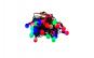 Instalatie glob liniara 5m, multicolora, diametru globuri 2cm, 40 leduri, joc lumini prestabilit