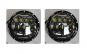 Set 2 Faruri Jeep / Samurai/Patrool/Etc Cu Angel Eyes LED+GAS Black