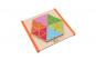 Joc Mozaic din lemn Montessori, placa de baza cu contur, finisaje excelente