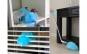 Spin duster - peria rotativa 360 cu peri tratati antistatic si cap flexibil