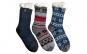 Set doua perechi ciorapi antiderapanti, cu interior imblanit - pentru barbati - Model Winter Season