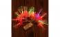 Instalatie de Craciun cu Baterii Tip Sir 2.5 m 20 LED -uri Fibra Optica Flori Roz