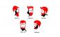 Sablon contur barba