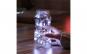 Instalatie de Craciun cu Baterii Tip Liniar, 2 jocuri de lumini, Fir Transparent 3 m 30 LED -uri, Alb Rece