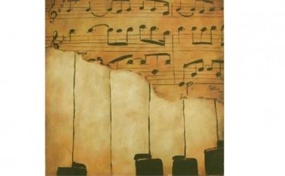 Pictura pe panza - Muzica